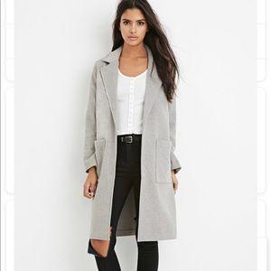 Grey Longlined Jacket